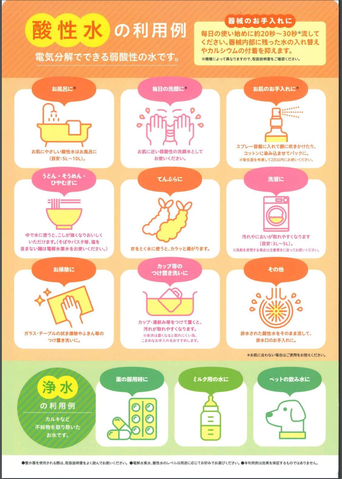 日本 トリム 酸性 水